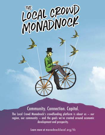 Local Crowd Monadnock poster